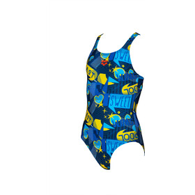 arena Dancing Swim Pro One Piece Swimsuit Meisjes, navy/multi